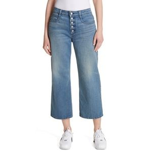LIKE NEW A.L.C. Montag High-Waisted Cropped Jeans
